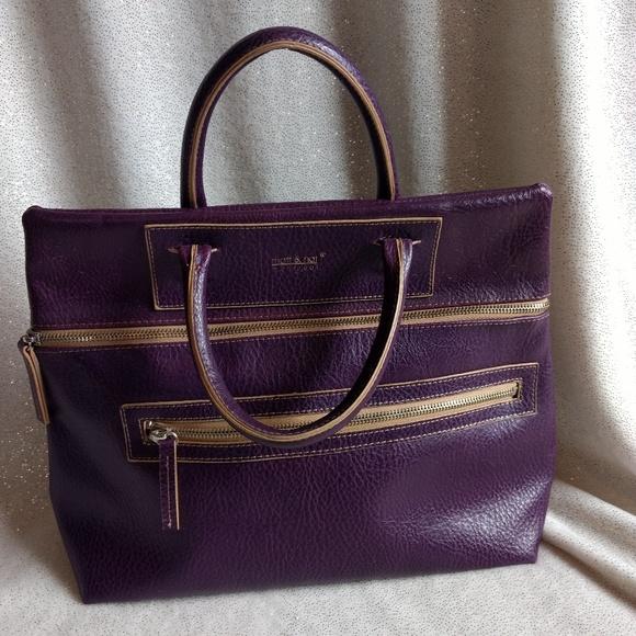 8c842f2d4e4e Matt   Nat Vegan Leather Purple Purse Handbag. M 5b6dc1a5534ef9845bc937c0